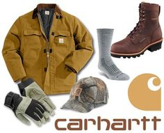 CARHARTT! They don't fit sissies!