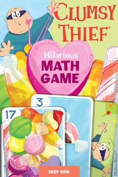 An award-winning game that has kids stacking and snatching cards while learning to add to 20. A fast, fun math card game for the whole family. Addition skills, strategy and luck is all you need to master this game. #mathgames #homeschool # secondgrademath #mathactivities #firstgrademath #additiongames #teachmath #homeschooling #funmath #funmathgames #summerfun