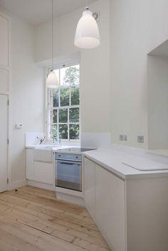 Alison Watt Studio kitchen by Helen Lucas Architects, photograph Angus-Bremner