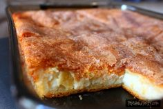 This Sopapilla Cheesecake is a creamy dessert that is the perfect blend of cream cheese with fluffy pastry, cinnamon and sugar. Absolutely divine!