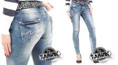 Jetzt auch in 34er Länge verfügbar  Diese stylische Damenjeans von Blue Monkey ist jetzt auch in Länge 34 verfügbar.  Hier im Webshop ansehen:  www.stylefabrik-fashion.de/Blue-Monkey-Damen-Jeans-Skinny-Used-Look-mit-weisser-Ziernaht-blau-BM-0607-100?fb=1