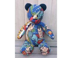 Vintage Fabrics, Uk Shop, Superman, Bespoke, Smurfs, Upcycle, Bears, The Past, Disney Characters