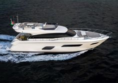 The birth of the new 'small one' in the Ferretti Yachts family, whose first hull will be launched next Spring, will be the first step of a long-term strategic process that will involve the brand's entire range. Ferretti Yachts can presently boast a fleet of eight flybridge yachts between 55 feet (the length of this new project) and 96 feet (that of the Ferretti Yachts 960, the brand's flagship).