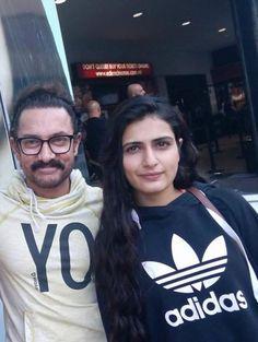 Thugs of Hindostan: Aamir Khan and Fatima Sana Shaikh chill in Malta