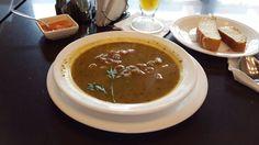 Noodle soup...