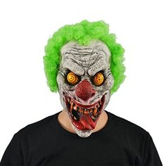 Awesome Awesome Hyaline&Dora Halloween Latex Zombie Ghost Mask With Hair for AdultsHalloween ... 2018