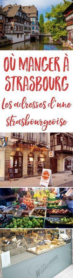 Vous prévoyez un petit weekend gourmand à Strasbourg ? Ne manquez pas cette sélection de bonnes adresses partagées par une Strasbourgeoise !