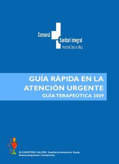 GUIA FARMACOLOGICA Y TERAPEUTICA DE URGENCIAS