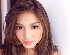 Nadine Lustre: Get Her Flawless No-Makeup, Makeup Look Nadine Lustre, Make Up Looks, Uniqlo Women Outfit, Makeup Tips, Beauty Makeup, Filipina Actress, Prettiest Actresses, Cool Hair Color, Latest Hairstyles