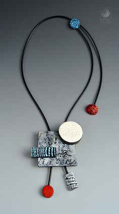 Polymer clay necklace Ipernity