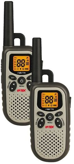 Ahora puede comprar los walkies de Intek a muy buen precio
