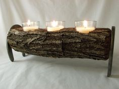 Hey, I found this really awesome Etsy listing at https://www.etsy.com/listing/214604316/mesquite-candle-holder-with-horse-shoe