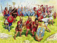 """Republican Rome Infantry"",  Andrey Karashchuk (Aндрей Kаращук)"