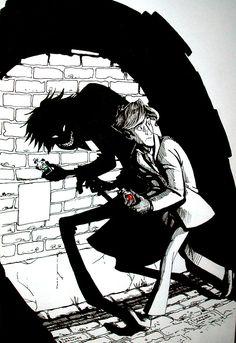 Jekyll and Hyde by iesnoth.deviantart.com on @deviantART