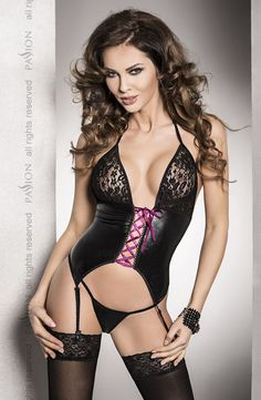 Passion Roxy Black Chemise