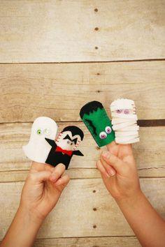 Felt Halloween Finger Puppets - WomansDay.com