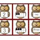 ***I add FREE items often. Follow me to get them as soon as they are listed.   This is a set of number cards with an owl theme, 0-10. Three cards f...