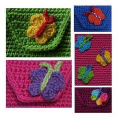 Crochet Hat: Tips / small patterns  Butterfly Pattern