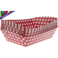 White & Red Gingham Food Baskets | Hobby Lobby | 1184019