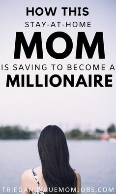 How to Become a Millionaire in 2020 - From a Stay-at-Home Mom Make More Money, Ways To Save Money, Make Money From Home, Earn Money, Work From Home Tips, Stay At Home Mom, Get Cash Fast, Money Saving Mom, Become A Millionaire