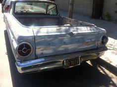 Ford Ranchero Spotted Off The Farm (And In Los Angeles) - Australian National Old Car Spotters Club