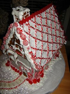 Gingerbread Red Diamond Roof