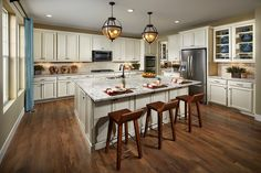 New Homes in Longmont, CO - The Estates at Somerset Meadows Trentino Kitchen