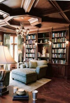 Home Library by Award Interiors | Home Offices & Libraries | Photo Gallery Of Beautiful Decorated Rooms