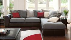 York Corner Lounge Suite with Chaise - Lounges & Recliners - Living Room - Furniture | Harvey Norman Australia