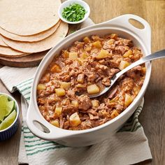 Carne Guisada Recipe -While living away from Texas for awhile, my boyfriend and I grew homesick for the spicy flavors of home. We've made this recipe a few times now, and it goes really well with homemade flour tortillas. We love it over rice, too. —Kelly Evans, Denton, Texas