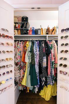 Under Cabinet Storage, Built In Storage, Storage Cabinets, Shoe Cabinets, Bed Storage, Pink Bedspread, Pink Headboard, Tiny Studio Apartments, Tiny Closet