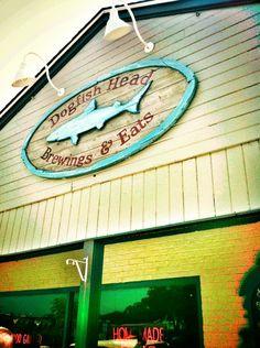 Dogfish Head Brewings & Eats in Rehoboth Beach, DE - chateau jiahu Rehoboth Beach Delaware, Lewes Delaware, Summer Travel, Summer Fun, Fenwick Island Delaware, Anniversary Getaways, Dewey Beach, Dogfish Head, Bethany Beach