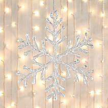 Acrylic Snowflake Tree Decoration