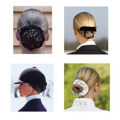 Hairstyles for Equestrian Competition - Learn what is appropriate for your discipline and check out the different dressage hairstyles, eventing hairstyles and hunter/jumper hairstyles.