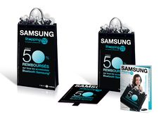 SAMSUNG MOBILE  PLV // Leaflet // Stop rayon