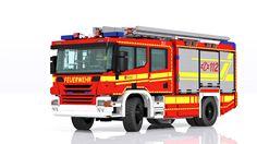 Scania/Rosenbauer P320 rescue pumper - HLF 20
