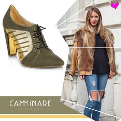 Estamos morrendo de amores por esse #shoes lindo e super fashion da Camminare!    #camminare #shoes #inlove #winter