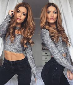 New Year's Eve is just around the corner 👀🎆🙆🏼 we're going to drive to Italy tomorrow morning and celebrate in Milan 🎉😁 any suggestions where to go after midnight? Caramel Hair, Corte Y Color, Hair Dos, Balayage Hair, Ombre Hair, Pretty Hairstyles, Easy Hairstyle, New Hair, Hair Inspiration