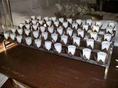 Vintage Church Votive Holds 20 Candles Heavy Duty Ornate