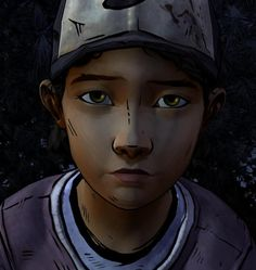Hi, I'm Clementine. I grew up during the zombie apocalypse. I lost all my family and friends. I lost my parents. I'm 8, adventurous, bookworm, and turning 9 tomorrow. I was adopted into this so called family. I kinda like it here. Also, don't touch my hat. It's my Dad's, and I rather not loose it. And my hair. My hair is supposed to stay short. Don't touch it. Ever. I should mention that I can wield any weapon, and use it against you. I had practice on walkers..