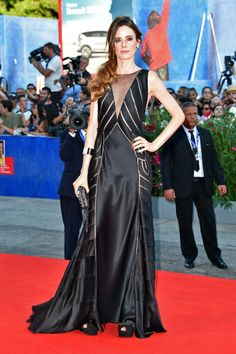 Jury member Pilar Lopez de Ayala attends the opening ceremony and premiere of…