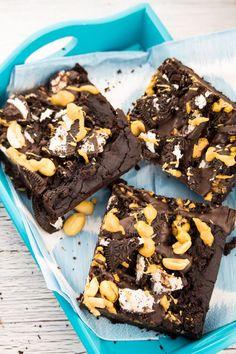 Oreo Peanut Butter Brownies