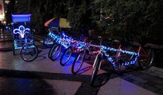 Sepeda Hias simpang lima