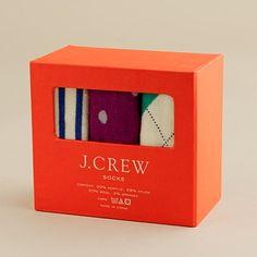 holiday socks from jcrew $25