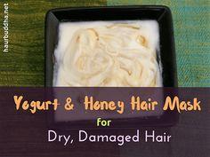 Yoghurt and Honey Hair Mask