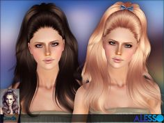 Candle hair set by Alesso - Sims 3 Downloads CC Caboodle