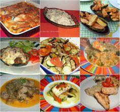 Cinco sentidos na cozinha: Nove receitas com Beringela- Legumes do mês de Jul...
