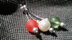 AKCIÓ!!JÚNIUS 10-23! Piros,fehér zöld,ez a magyar föld! nyaklánc (NoRoVilaga) - Meska.hu Pearl Earrings, Drop Earrings, Jewelry, Pearl Studs, Jewlery, Jewerly, Schmuck, Drop Earring, Jewels