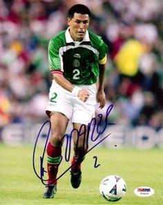 Claudio Suarez Autographed 8x10 Photo Mexico PSA/DNA #U54206