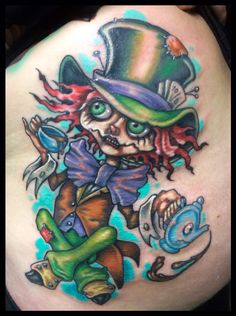 Madhatter tattoo